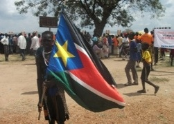 The South Sudanese Flag
