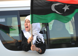 Libyans celebrate their freedom
