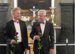 The Netherlands became the first country to legalize same-sex marriage in December 2000. (The Pew Forum)