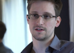 Snowden in an interview