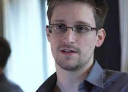 Snowden in an interview