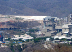 Cementos Progreso Plant located in San Miguel, Sanarate, El Progreso. It is the largest cement production plant in the country. Source: Guate360