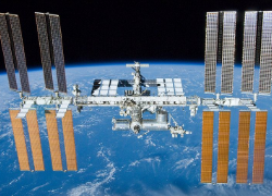 The International Space Station is a symbol of international cooperation. Image Source: Wikimedia Commons