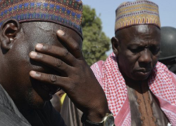 Parents of the kidnapped girls plead for more help to safely return their daughters. Image Source: Reuters