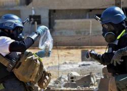 opcw inspectors in syria