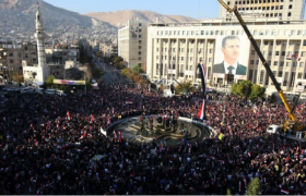 demonstrations in syria in 2011
