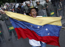 Violent protests in Venezuela have left 41 people dead and hundreds injured. Image Source: Washington Post