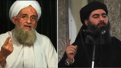 ISIS leader Abu Bakr al-Baghdadi and Al-Qaeda chief Ayman al-Zawahiri