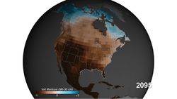 North America Soil Moisture Projection Graphic