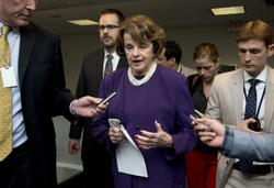 Senate Intelligence Chair Sen. Dianne Feinstein, D-Calif.