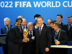 Qatar accepts award in 2010 to host FIFA World Cup 2022