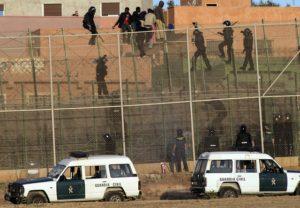 Prison in Melilla Guardia Civil. Credit to: http://www.hrw.org/sites/default/files/media/images/photographs/2014_Spain_MelillaGuardiaCivil.jpg