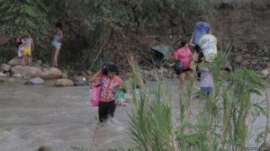 Columbian Crossing River