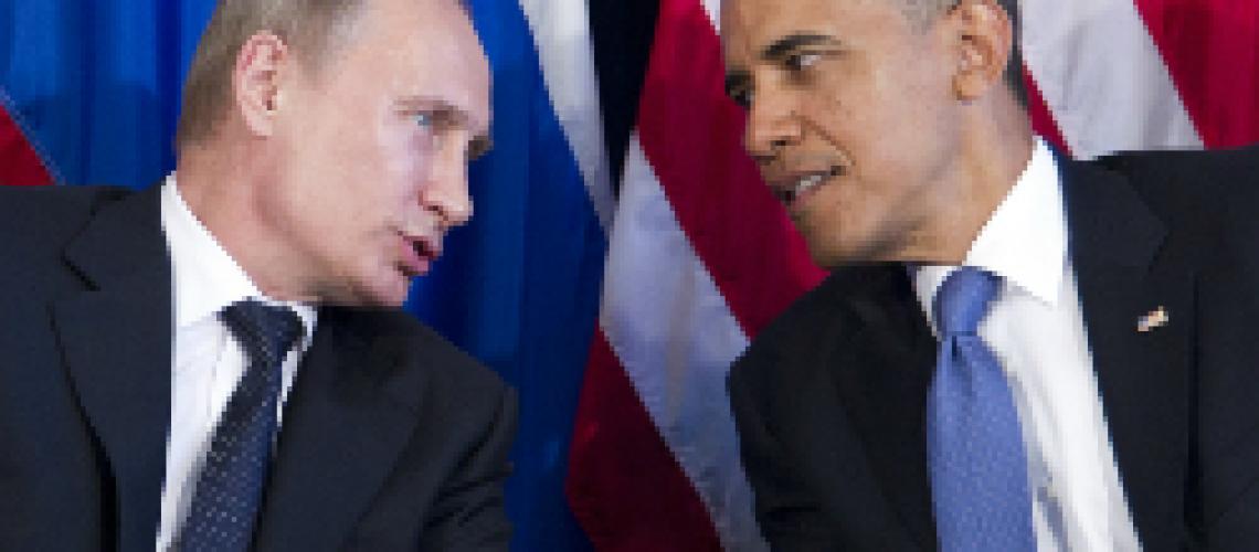 Presidents Putin and Obama (CBS)