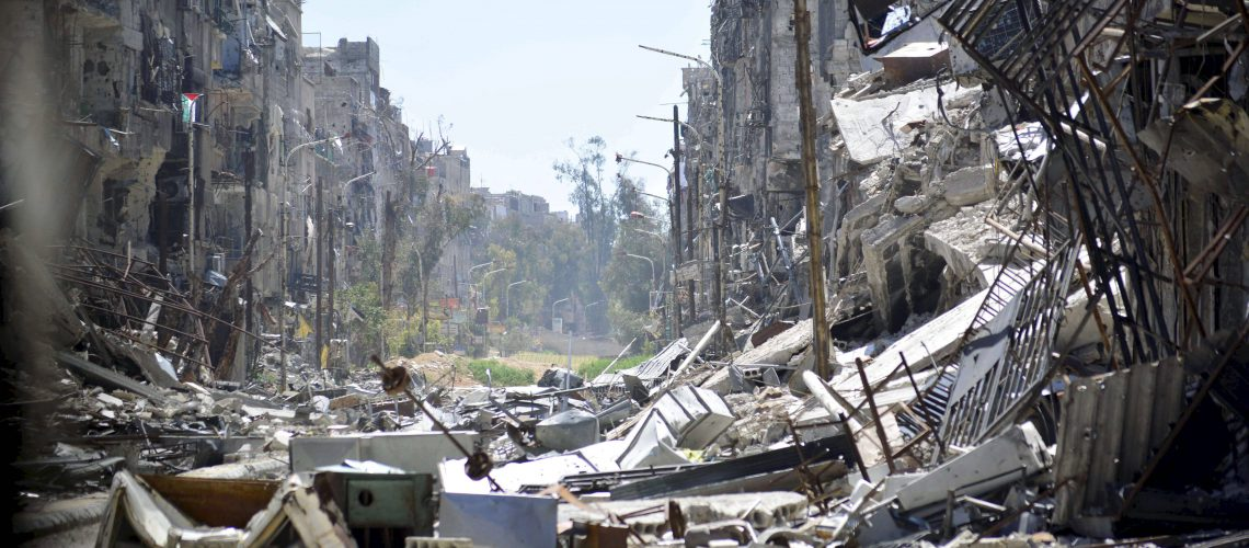 SYRIA-CONFLICT-PALESTINIAN-YARMUK