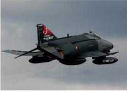 Turkish F-4 Phantom (The Aviationist)